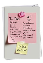 Note To Mom Card