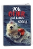 Funny Get Well Card From NobleWorksInc.com - Otterly Awesome