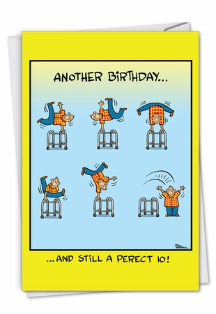 Hysterical Birthday Card From NobleWorksInc.com - Perfect 10