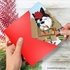 Creative Merry Christmas Card From NobleWorksInc.com - Purr-fect Holiday-Red Bow