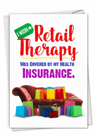 Hysterical Get Well Card From NobleWorksInc.com - Retail Therapy