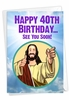 Funny Milestone Birthday Card From NobleWorksInc.com - See You Soon-40