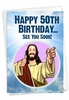 Hilarious Milestone Birthday Card From NobleWorksInc.com - See You Soon-50