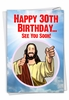 Funny Milestone Birthday Card From NobleWorksInc.com - See You Soon