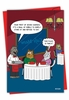 Humorous Valentine's Day Card From NobleWorksInc.com - Seven Courses