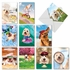 Funny Birthday Assorted Cards From NobleWorksInc.com - Shaggy Dogs