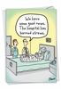 Funny Get Well Card From NobleWorksInc.com - Straw Ban
