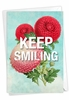Stylish Blank Friendship Card From NobleWorksInc.com - Timely Thoughts - Keep Smiling