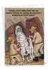 Humorous Birthday Card From NobleWorksInc.com - Toilet Paper Mummy