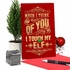 Funny Merry Christmas Card From NobleWorksInc.com - Touch My Elf
