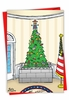 Hilarious Merry Christmas Card From NobleWorksInc.com - Tree Wall