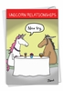 Hysterical Valentine's Day Card From NobleWorksInc.com - Unicorn Relationships