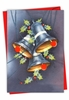 Creative Merry Christmas Card From NobleWorksInc.com - Vintage Bells-Holly