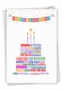 Hysterical Birthday Card From NobleWorksInc.com - Word Cloud