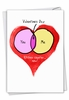 Funny Valentine's Day Card From NobleWorksInc.com - You Me Chart
