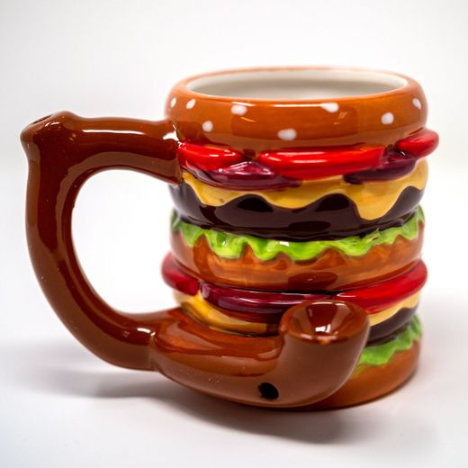Burger Roast And Toast Pipe Mug