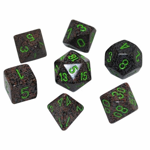 Chessex - Earth Polyhedral 7 Die Set