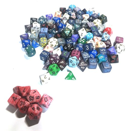 Chessex - Pound O Dice With 7 Die Set Included