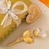 Choice Crystal Gold and Clear Crystal Long Stem Rose