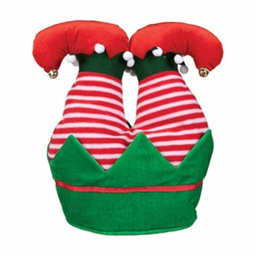 Christmas Elf Feet Hat
