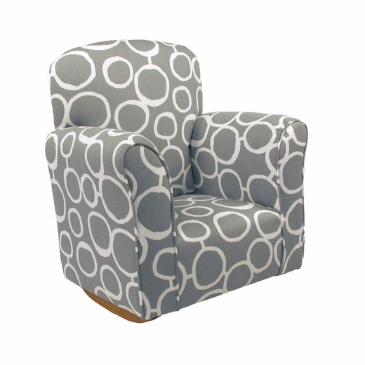 Freehand Storm Cotton Toddler Rocker - Cotton Rocking Chair