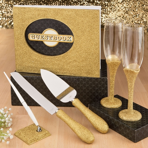 Golden Elegance Collection 4-piece Gift Set