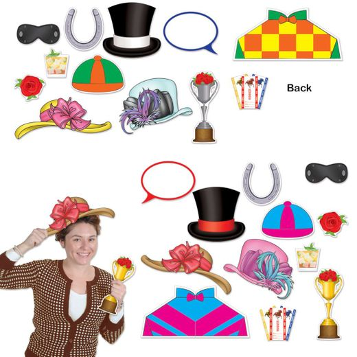 Horse Racing Photo Booth Props