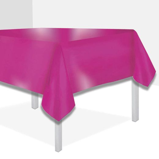Hot Pink Metallic Tablecover