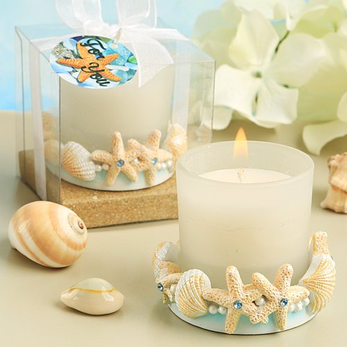 Life's A Beach Collection Candle Favors