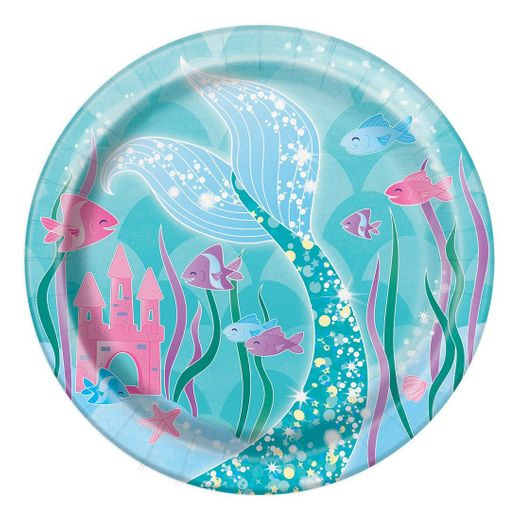 Mermaid Cake Plates