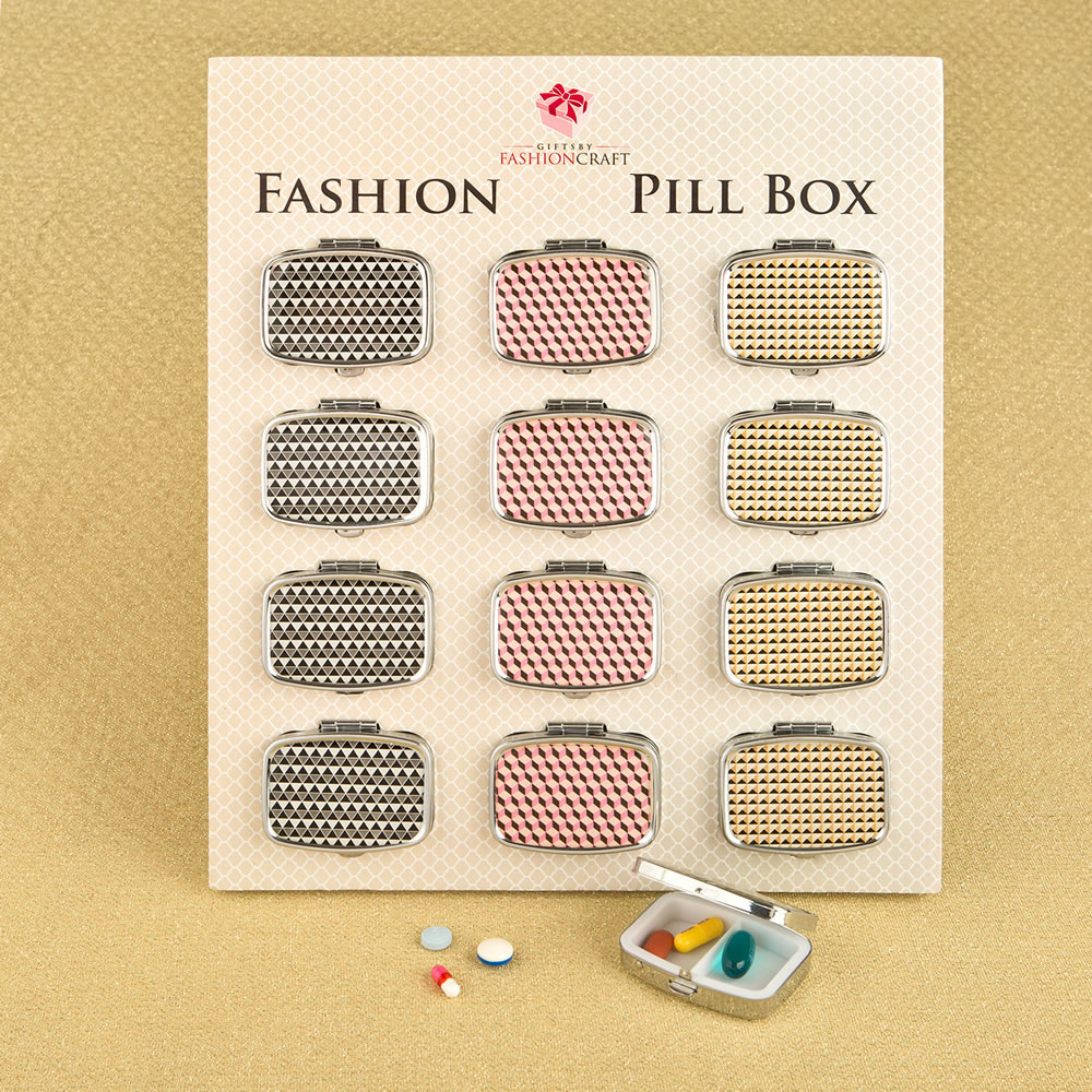 Modern Graphic Design Pillbox