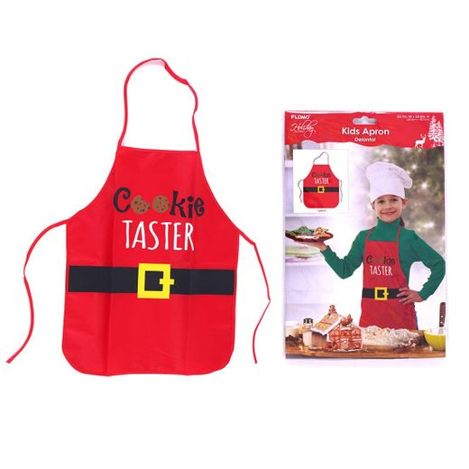 Official Cookie Taster Kids Cooking Apron