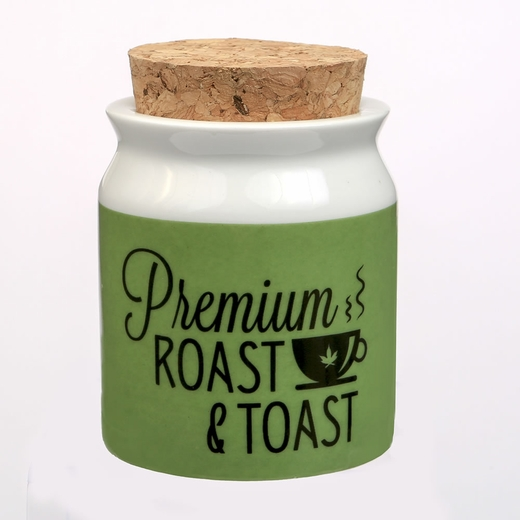 Premium Roast And Toast Stash Jar