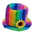 Rainbow Bucket Hat With Flower Band