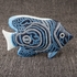 Sea Fish Figurine Decorative Standing Object in Distressed Look