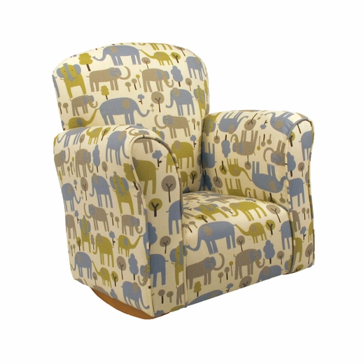 Trunk Tales Cotton Toddler Rocker - Cotton Rocking Chair