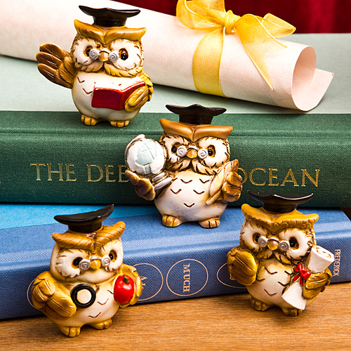 Wise Owl Graduation Magnets