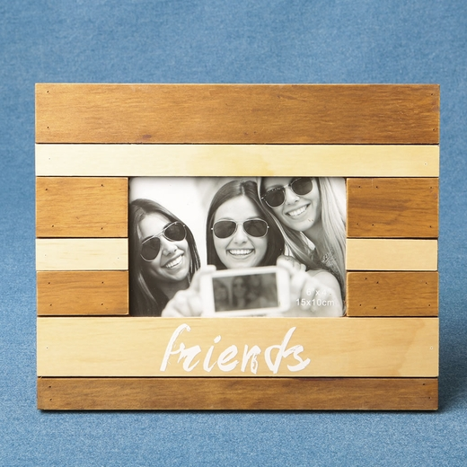 Wood Two Tone Frame Friends