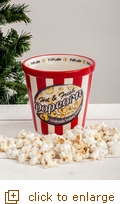 Hot & Fresh Popcorn Ceramic Individual Bowl