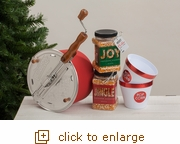 Joyous Holiday Original Red Whirley Pop