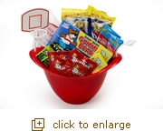 Popcorn Sports Bowl Snack Set