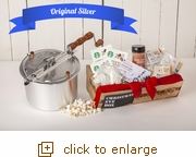 The Perfect Christmas Eve Box + Whirley Pop Popcorn Popper