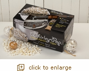 Timeless Popcorn Gift Set with Hull-less Popcorn & Metal Gear Whirley-Pop