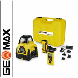 GEOMAX ZONE 70 DG Dual Slope Laser with Digital Detector and Remote
