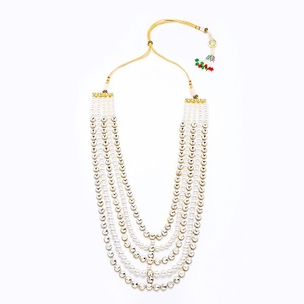 Aalia Necklace in Pearl