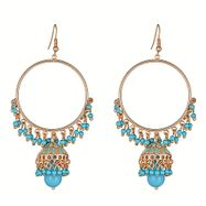 Hamptons Drop Earrings in Blue