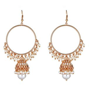 Hamptons Drop Earrings in White