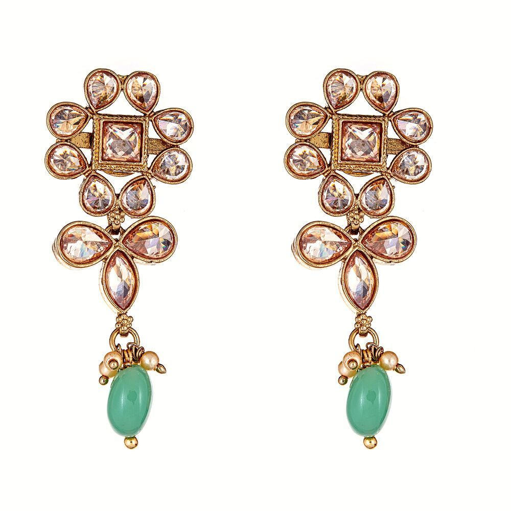 Adiva Floral Earrings