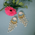 Aine Floral Drop Earrings
