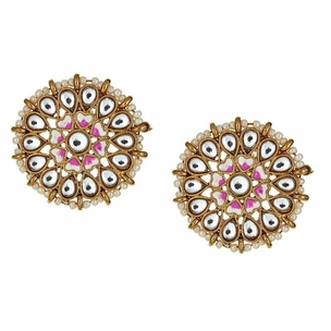 Amaris Floral Stud Earrings